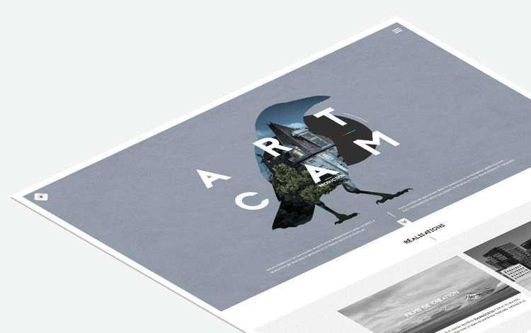 Web design société production vidéo