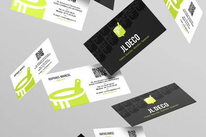 JL Déco - Logo & Carte de visite