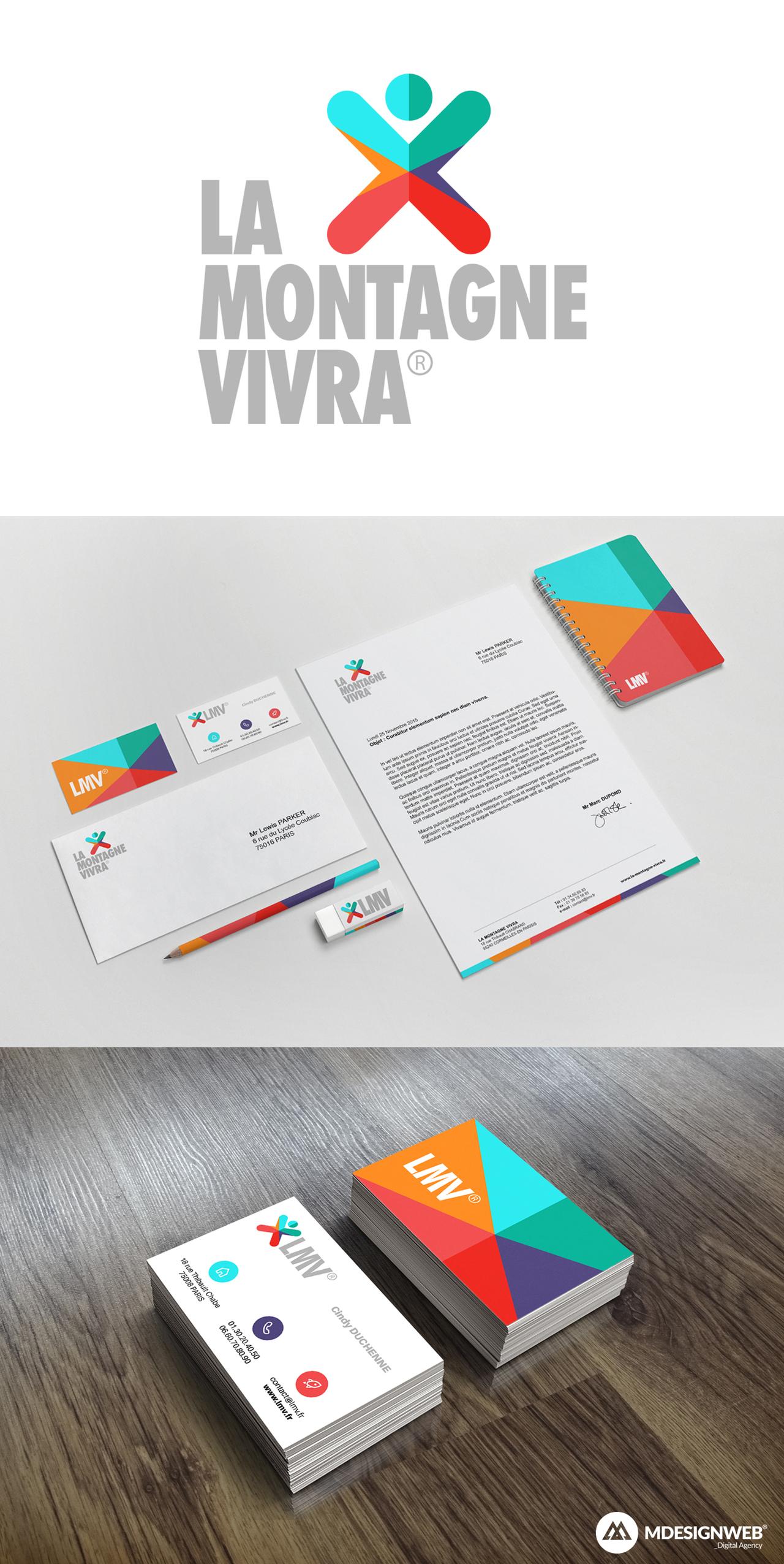 LMV - Charte Graphique & Réalisation de Logo