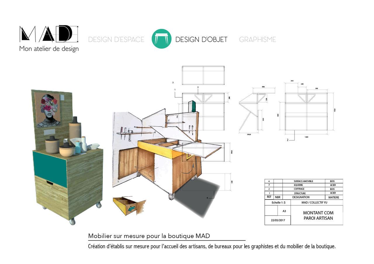 Fabrication mobilier sur mesure