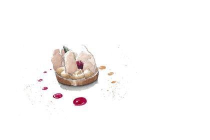Illustration pour un restaurant