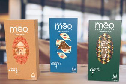 Packaging café Méo