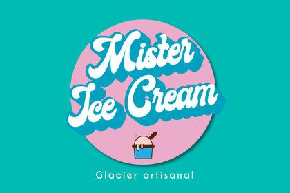 Logo mister ice cream