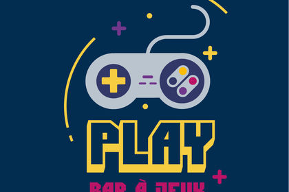 Logo bar à jeux