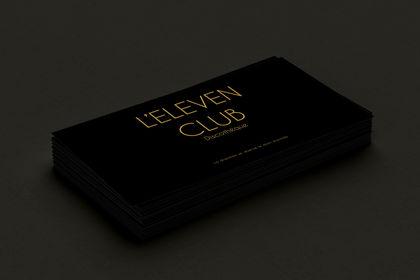 Carte de visite eleven club