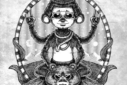 Shiva monkey