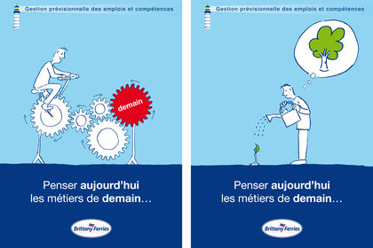 Illustration pour Brittany Ferries