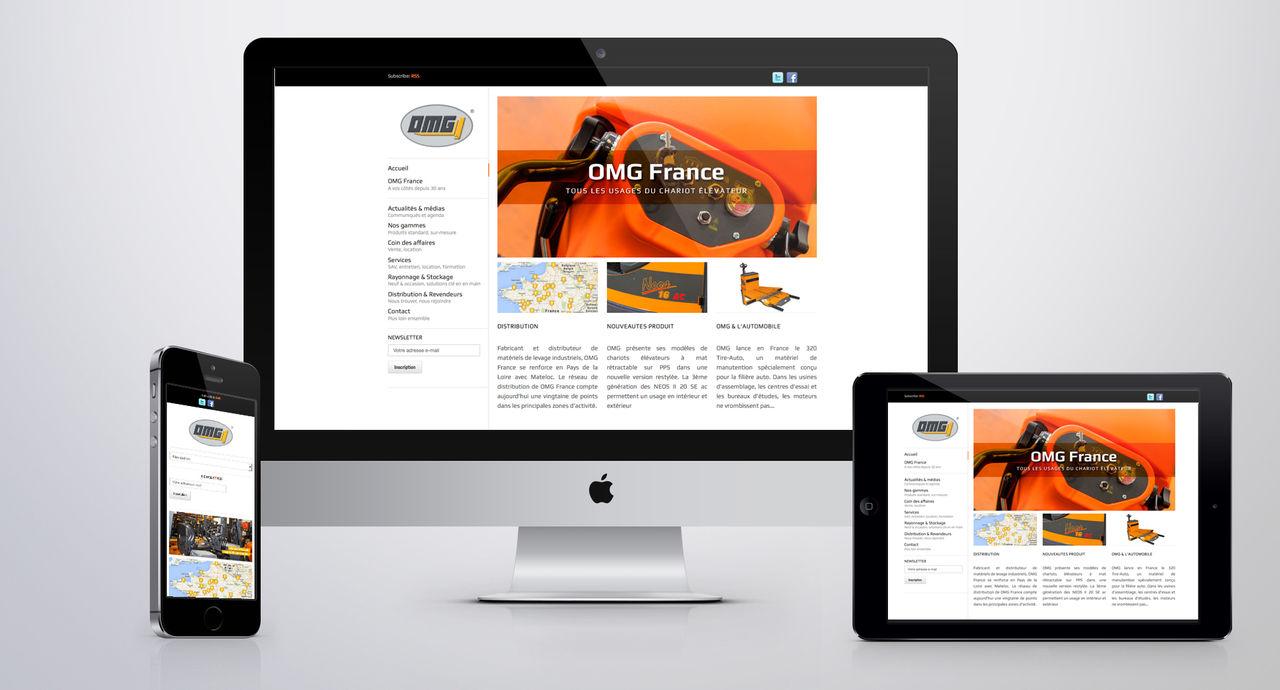 Site WEB OMG France
