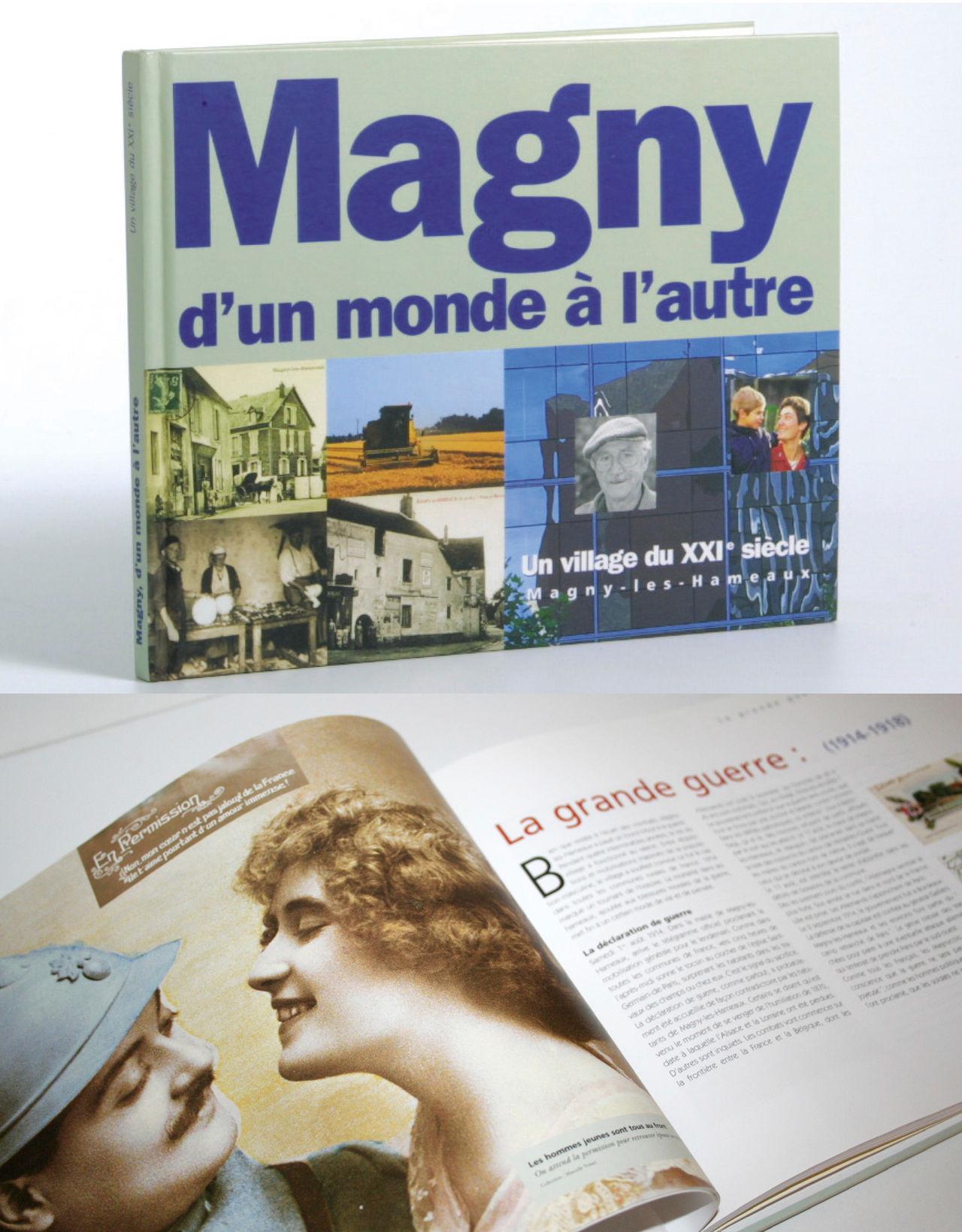 Livre - Ville de Magny les Hameaux (78)