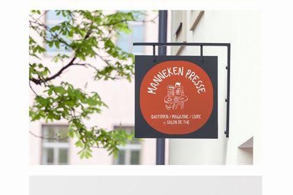 Logotype - Manneken Presse