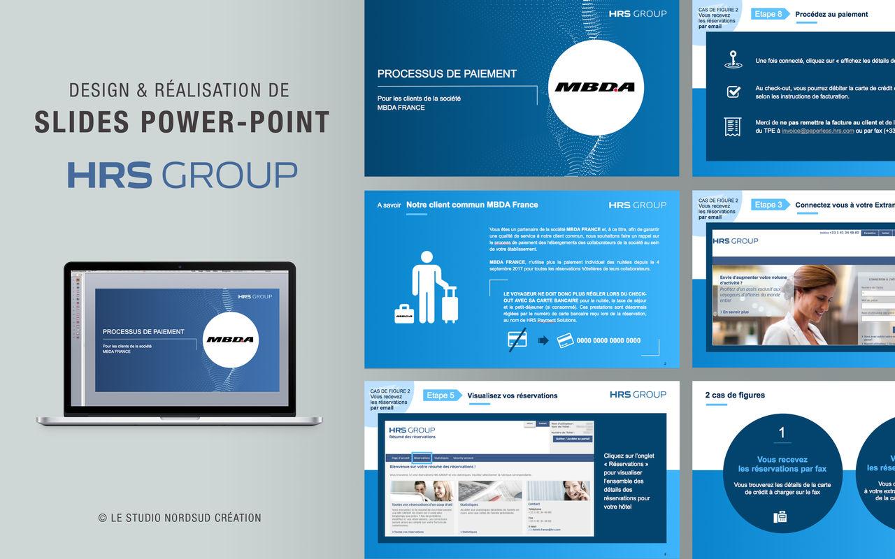 Présentation PowerPoint pour la société HRS Group