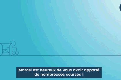 Motion design pour Marcel
