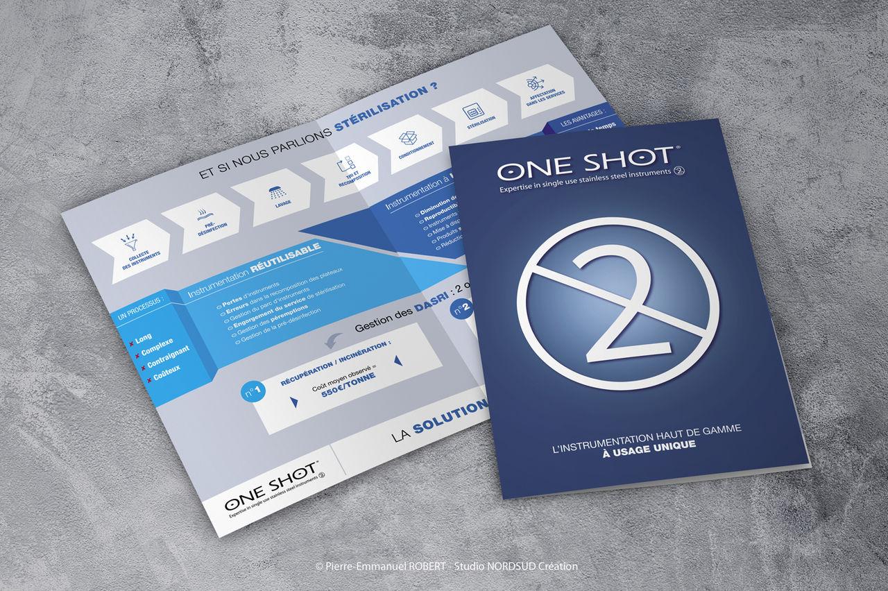 One shot - Plaquette d'aide à la vente