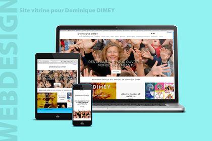Site vitrine - Dominique Dimey