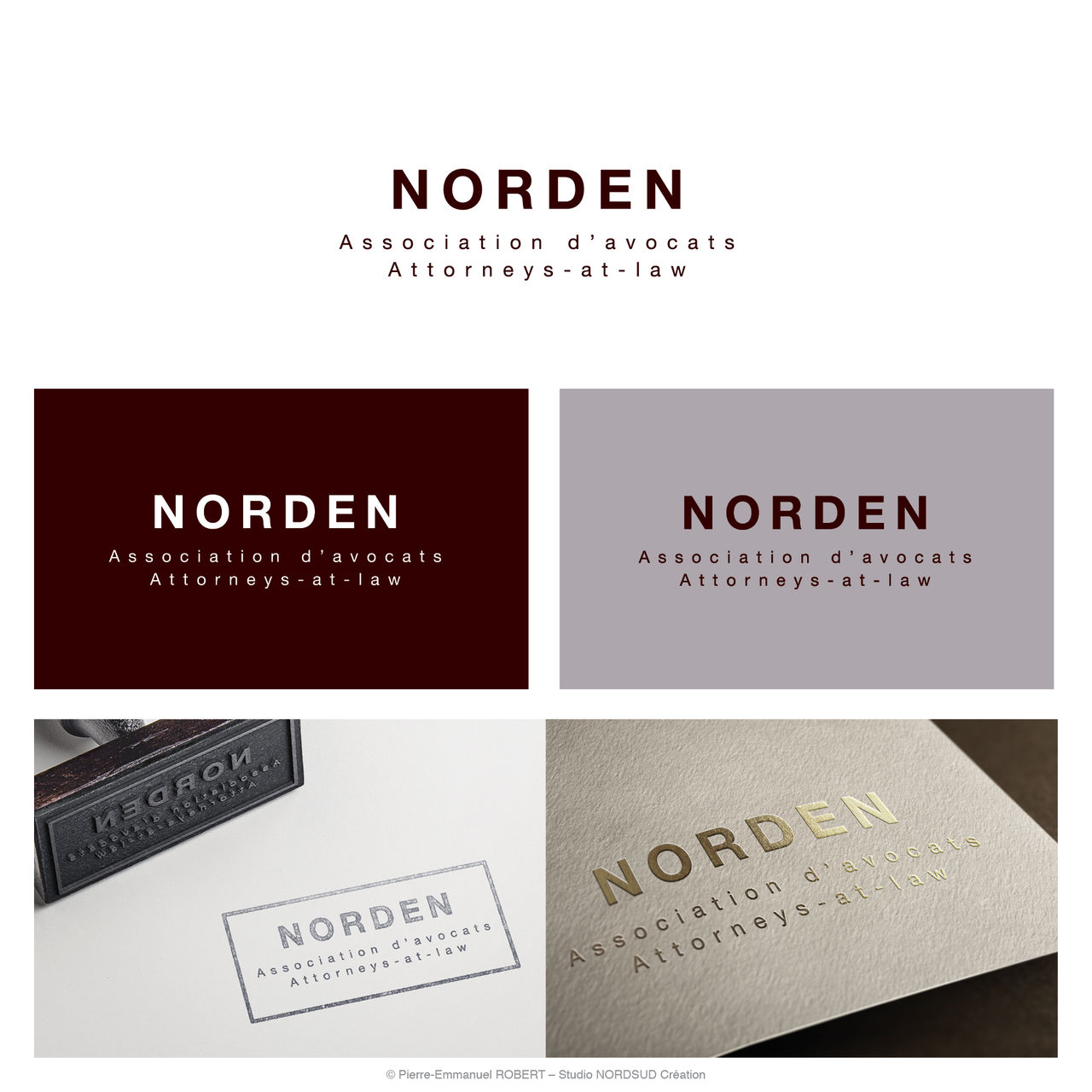Création du logo NORDEN