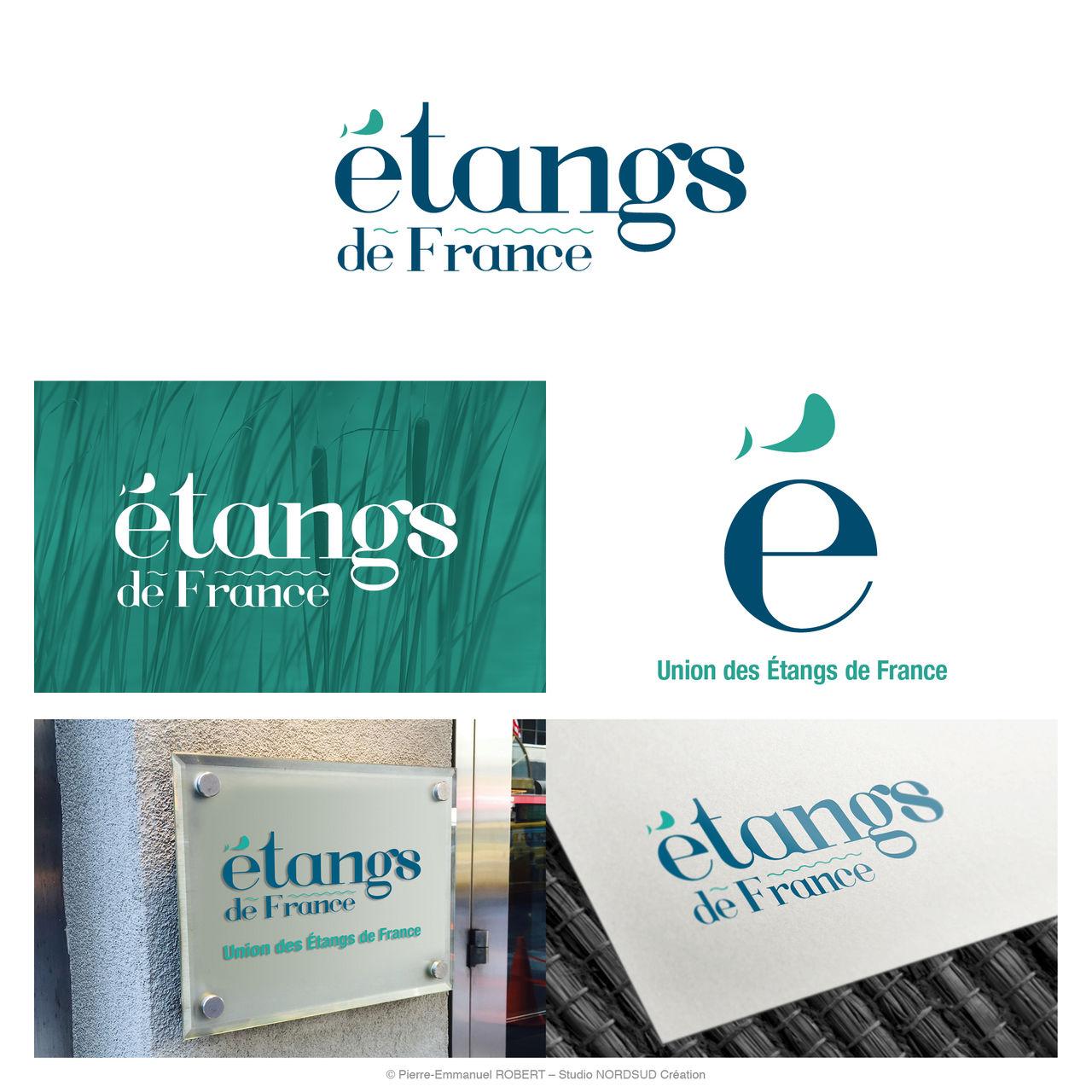 Création du logo Etangs de France
