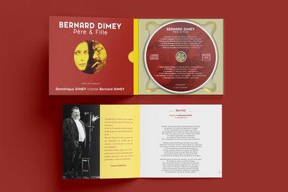 Design CD pour Dominique DIMEY