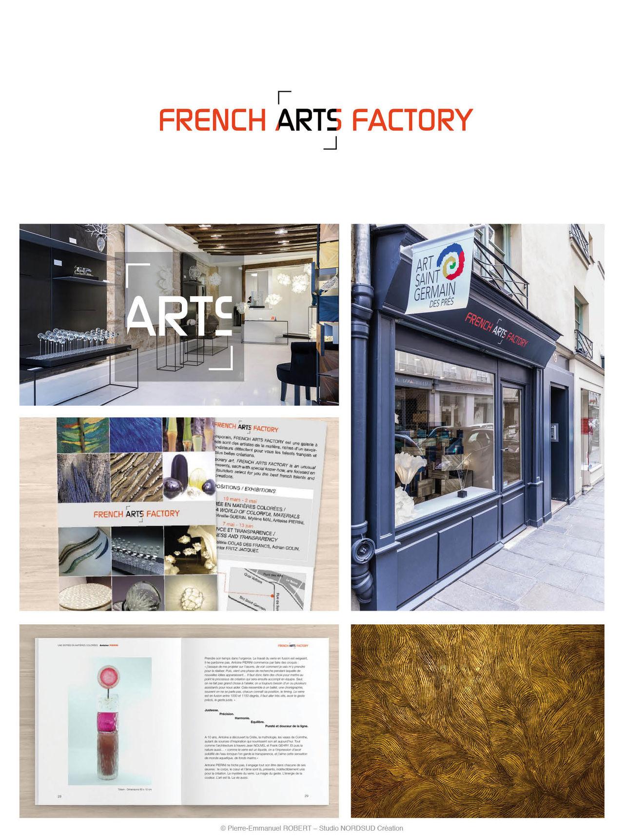 Création du logo French Arts Factory