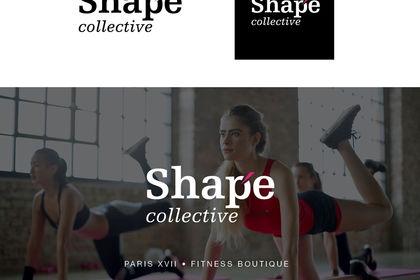 Création du logo Shape Collective