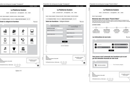 Webdesign / interface utilisateur
