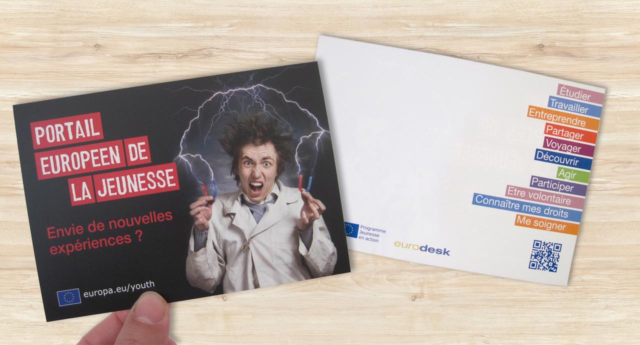 Carte Postale pour Eurodesk