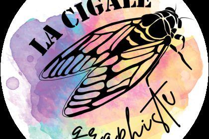 Logo la cigale graphiste