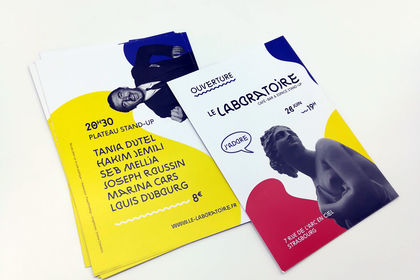 Flyers - Le Laboratoire