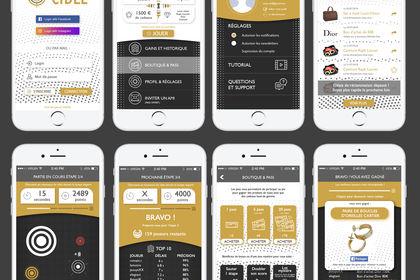 Design UI/UX Application mobile