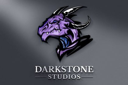 Logo gaming studio jeu vidéo