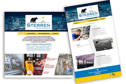 Publications pour une entreprise d'électricité