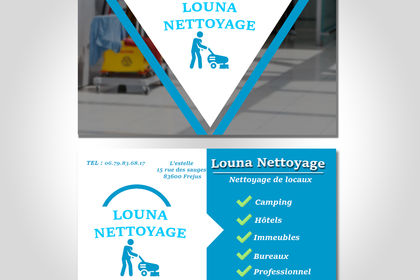Carte de visite : Louna Nettoyage