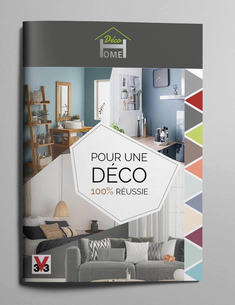 Projet de formation - Brochure DecoHome