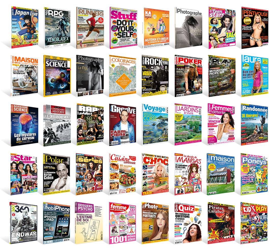 Magazines presse