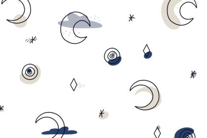 Pattern Moon Pearl