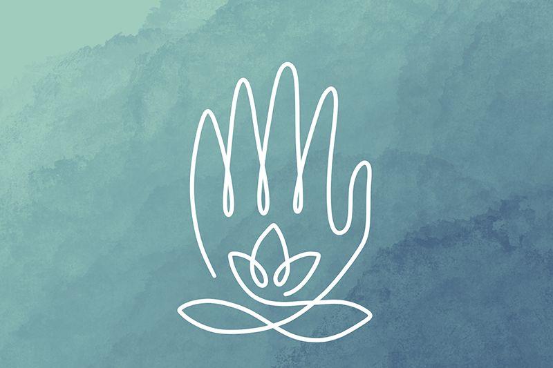 Logo Main et Lotus
