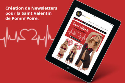 Newsletter Saint valentin