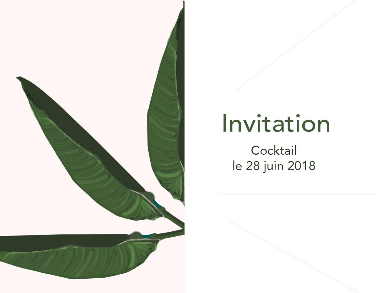 Invitation / cocktail 2018