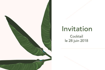 Invitation / cocktail 2018