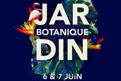 Proposition d'affiche jardin botanique / Paris