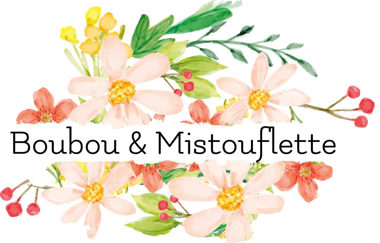 Réalisation du logo Boubou & Mistouflette