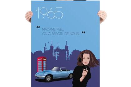 Poster Emma Peel