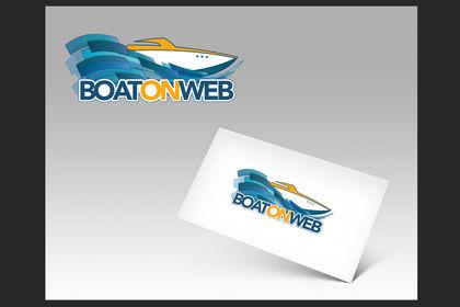 """Logo """"Boat On Web"""""""