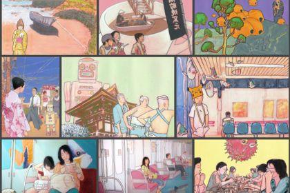 Illustrations sur le Japon