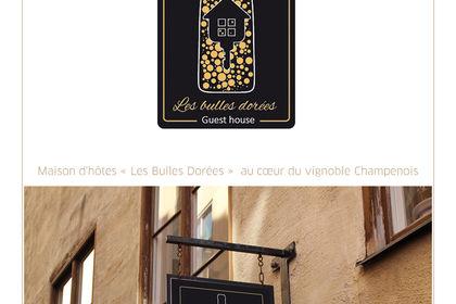 """Logo 'Les bulles dorées"""""""