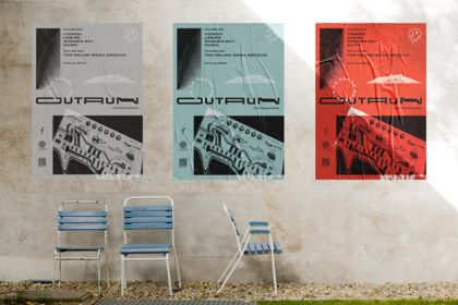 Affiches OUTRUN