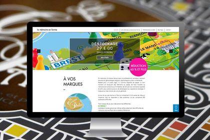 Site e-commerce : jeux de société