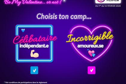 Jeu marketing - St Valentin