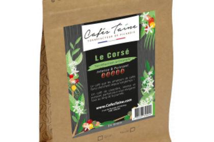 """Packaging café """"Le Corsé"""""""