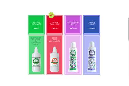 Étiquettes produits cosmétiques
