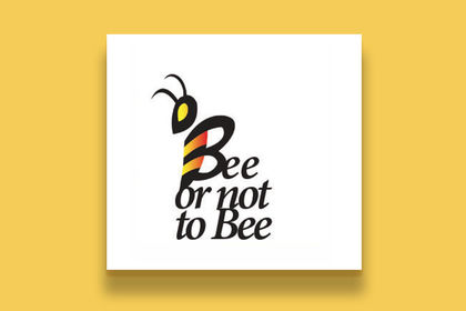 LOGO BEE OR NOT TO BE
